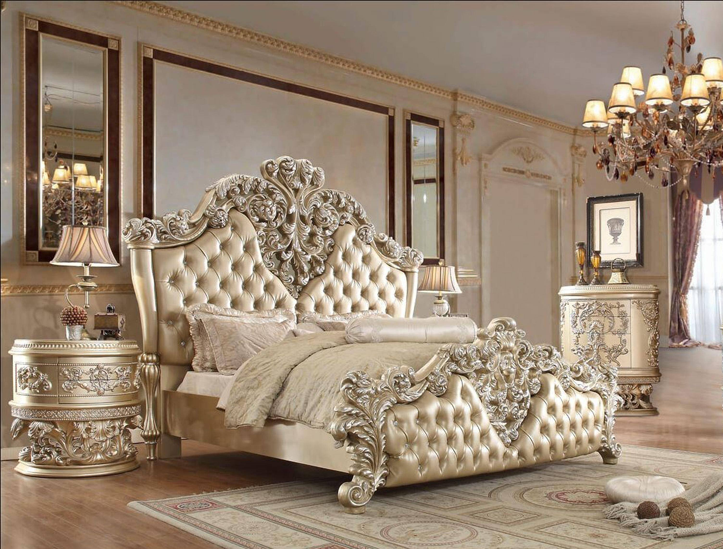 Cal King Bedroom Set Inspirational Luxury Belle Silver Cal King Bedroom Set 5 Pcs Homey Design