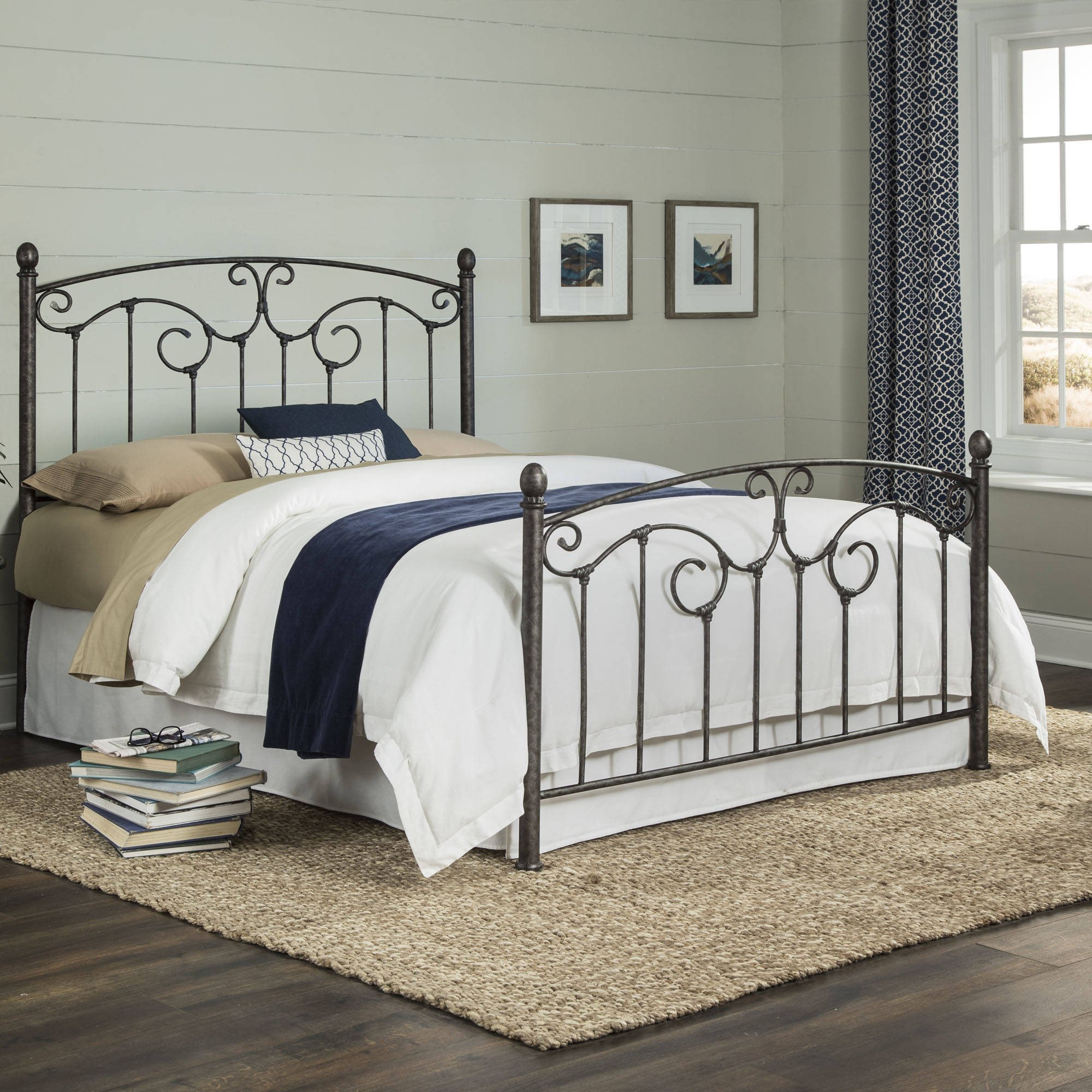 Cal King Bedroom Set Lovely Leg T and Platt Hinsdale Antiqued Pewter Cal King Metal