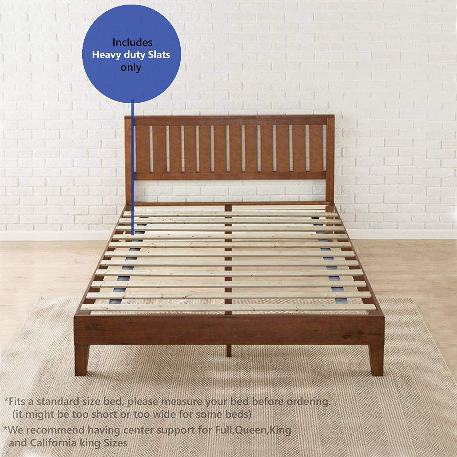 California King Size Bedroom Furniture Set Best Of Spring solution 1 5 Inch Heavy Duty Mattress Support Wooden Bunkie Board Slats California King Beige