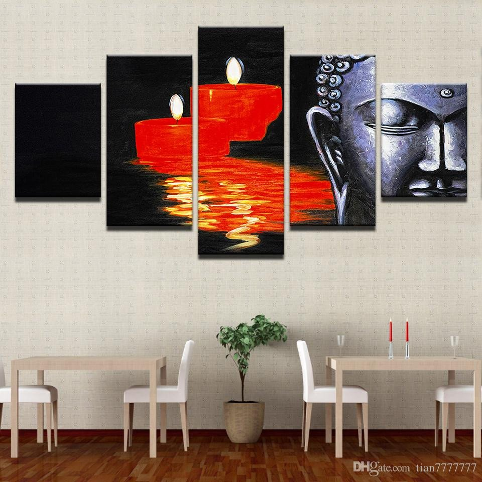 Canvas Painting for Bedroom Best Of Hd Print Canvas Painting Buddha Candle Wall Art Picture Home Decor Bedroom Poster Painting Unframed Canada 2019 From Tian Cad $23 12
