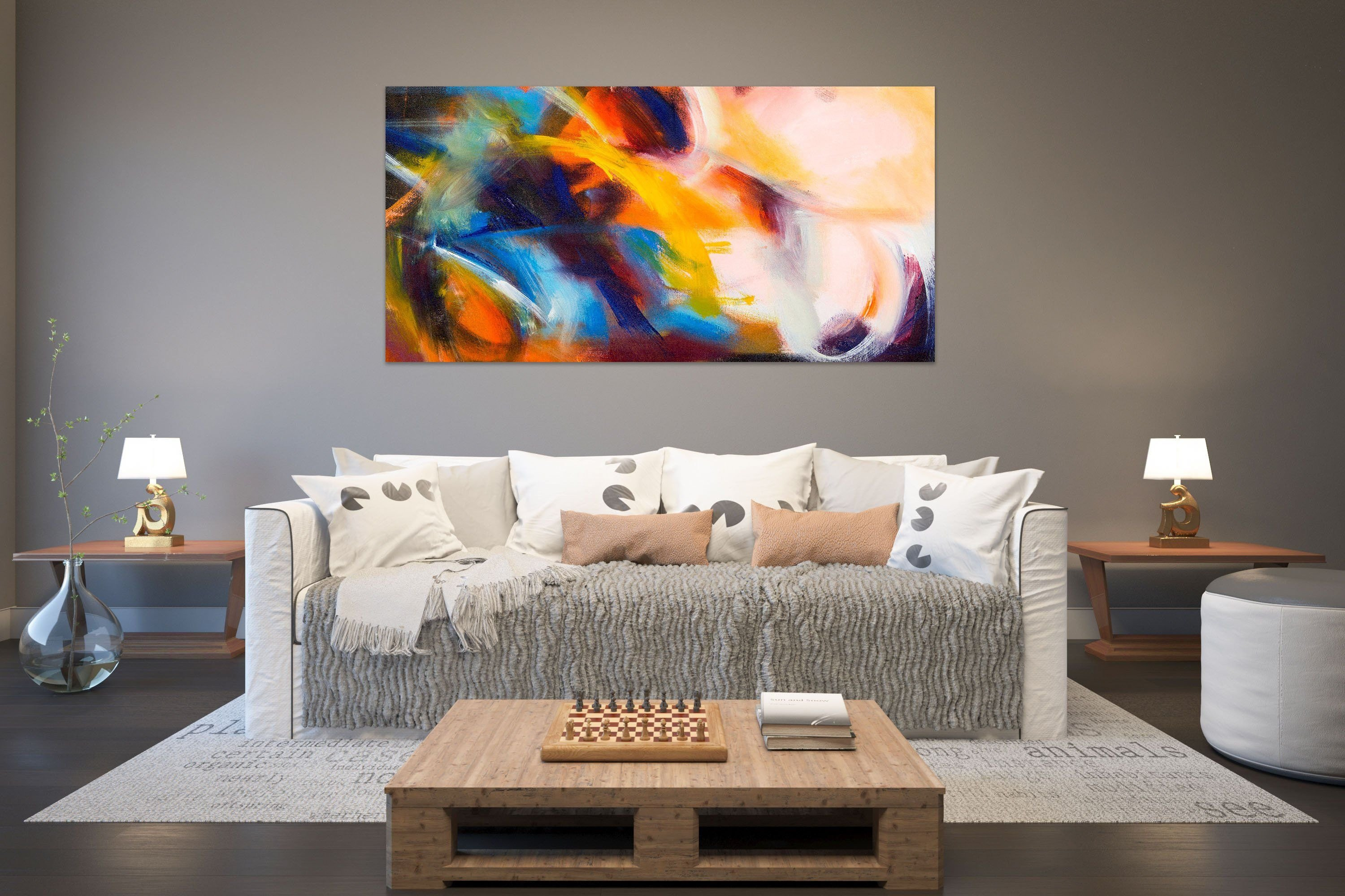 Canvas Painting for Bedroom Elegant Abstract Painting On Canvas Painting On Canvas