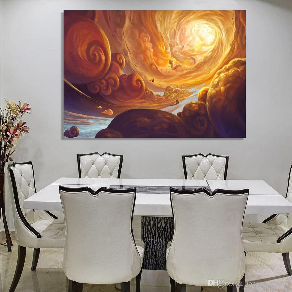 Canvas Painting for Bedroom Unique 2019 Clouds Dragon Wall Art Canvas for Living Room Bedroom Home Decor Printed Canvas Paintings From Jonemark2014 $29 55