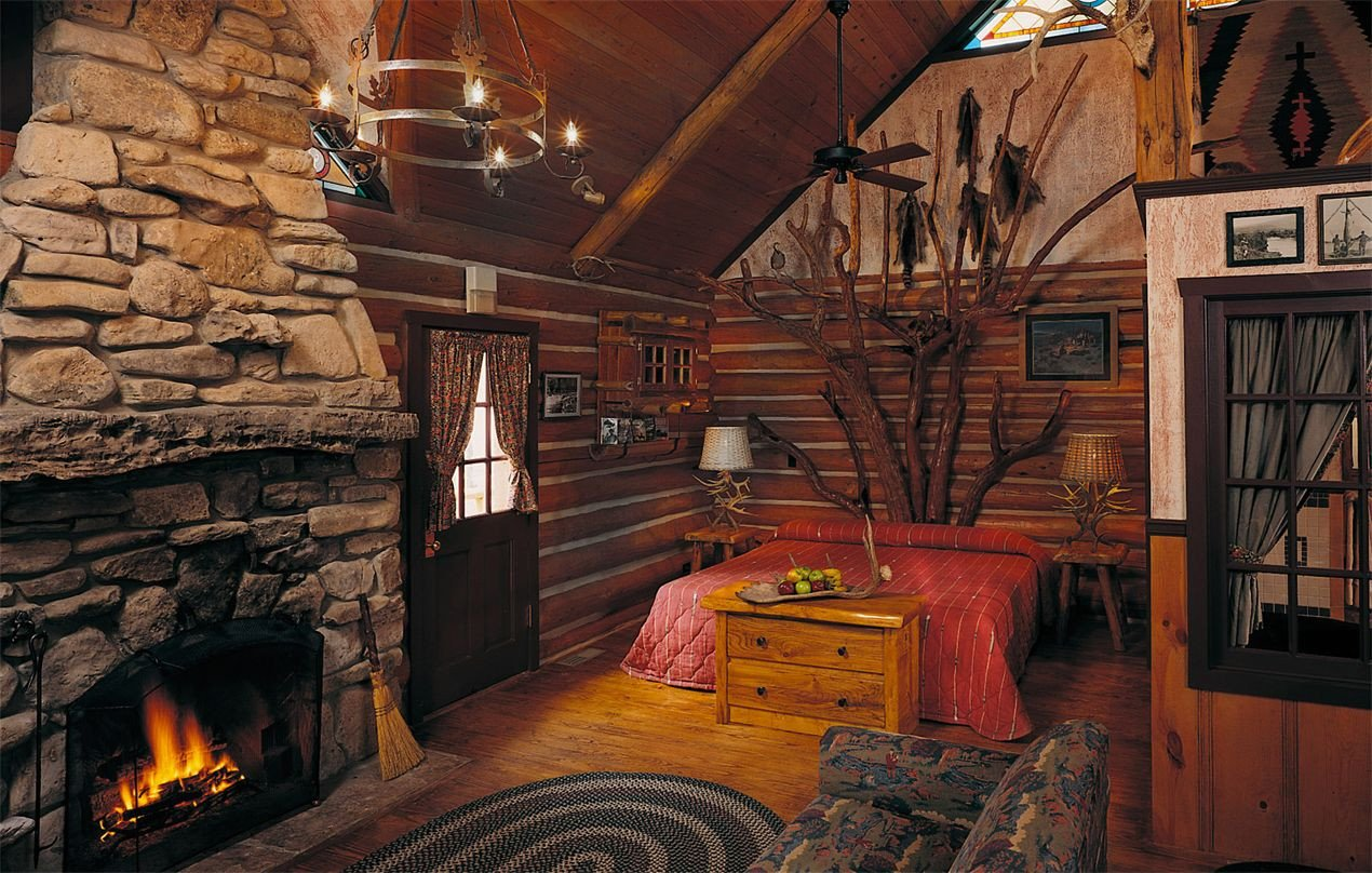 Cedar Log Bedroom Furniture Luxury Private E Room Cabin Branson Missouri Resorts