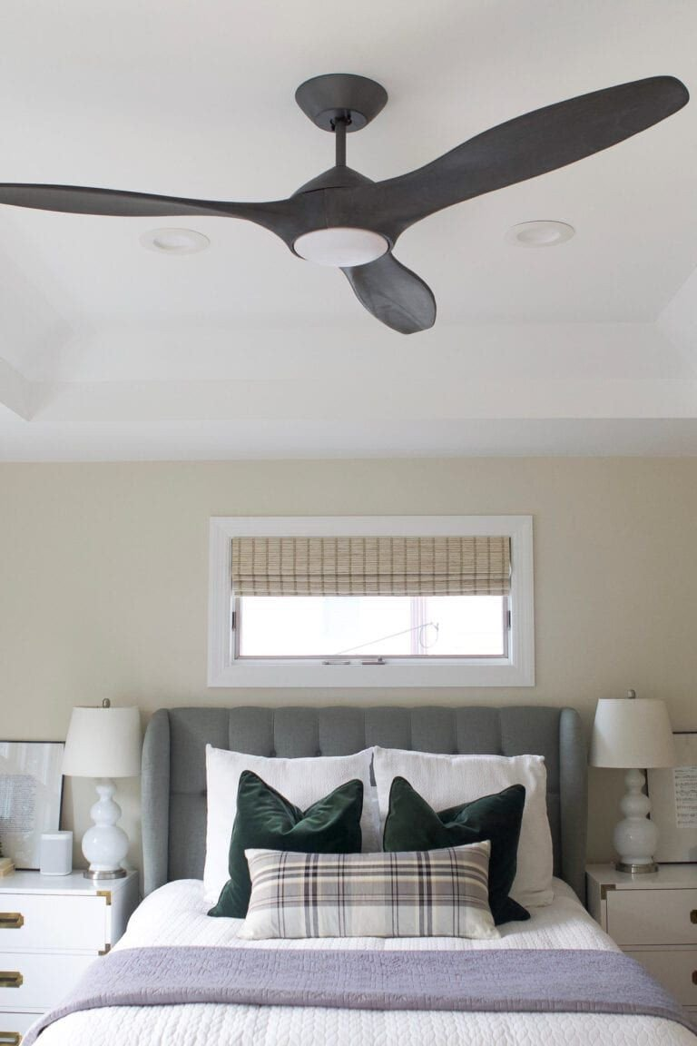 Ceiling Fan for Bedroom Elegant Stylish Contemporary Bedroom Ceiling Fans