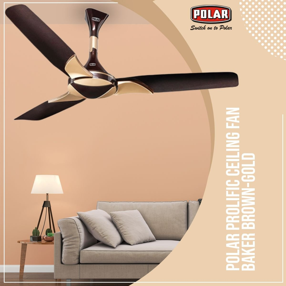 Ceiling Fan for Bedroom Luxury Polar Brings to You Ceiling Fan with the Innovative and