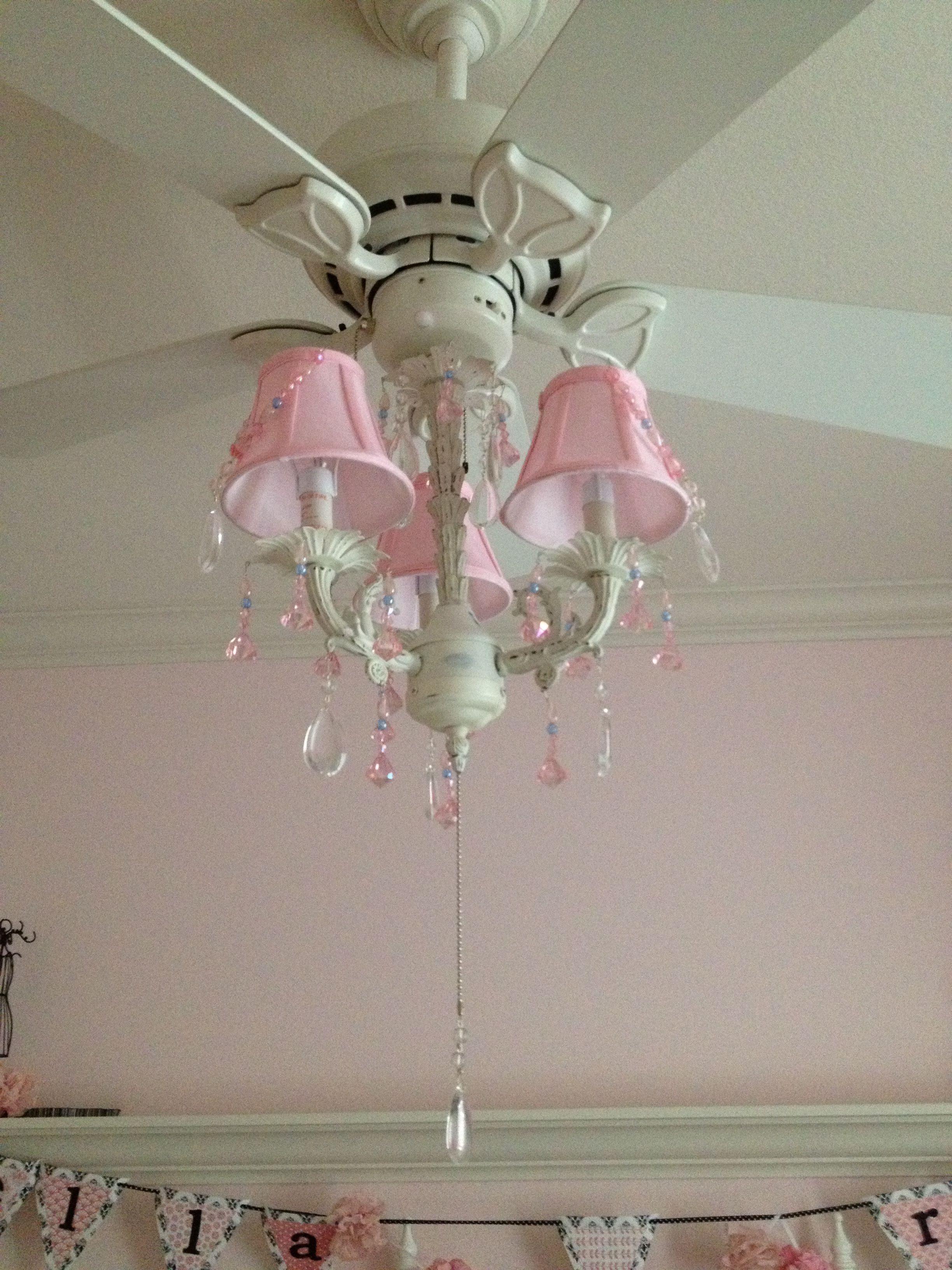 Ceiling Fans for Girl Bedroom Inspirational Pink Chandelier On the Fan