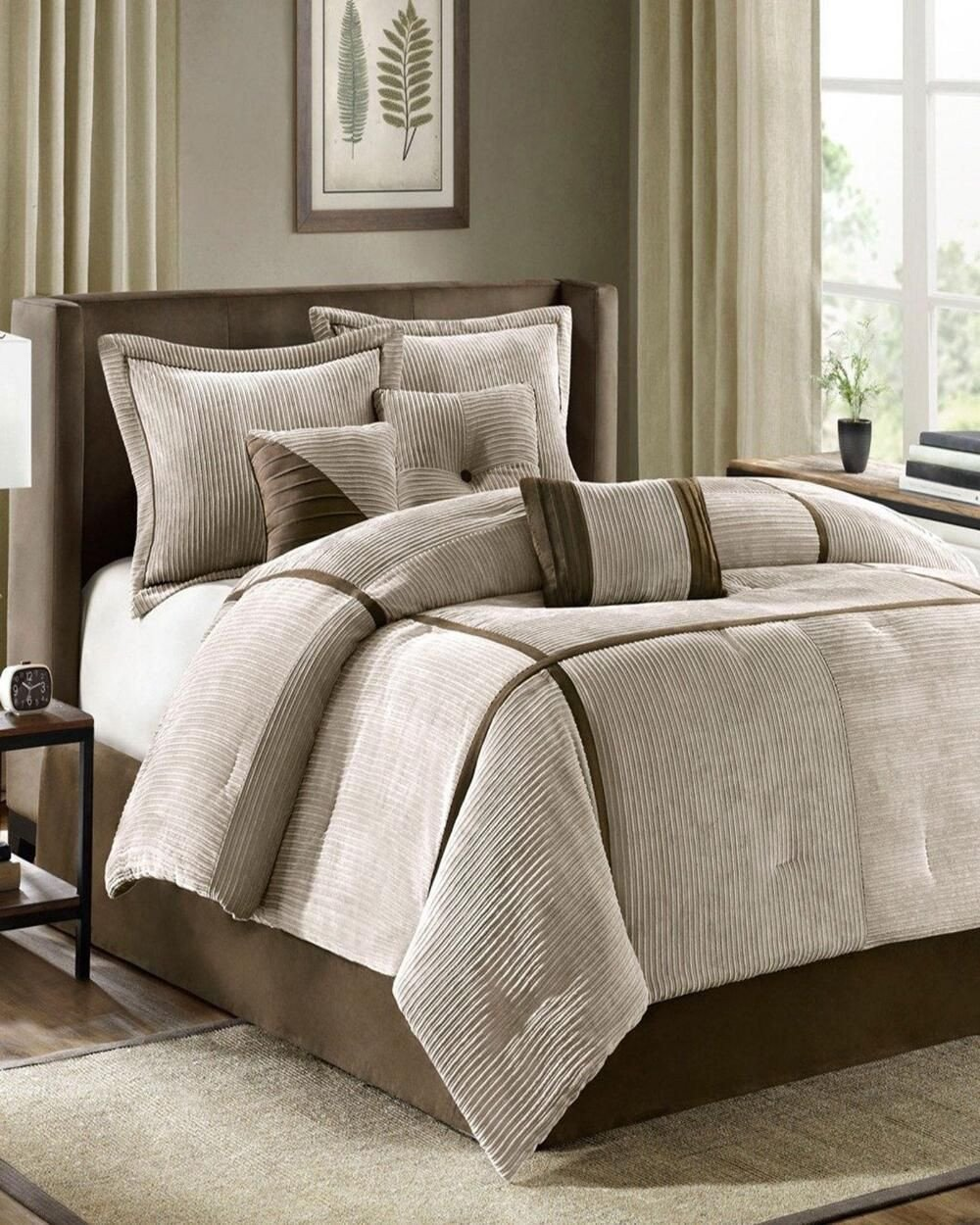 Cheap Bedroom Comforter Set Inspirational Madison Park 7 Piece Houston forter Set