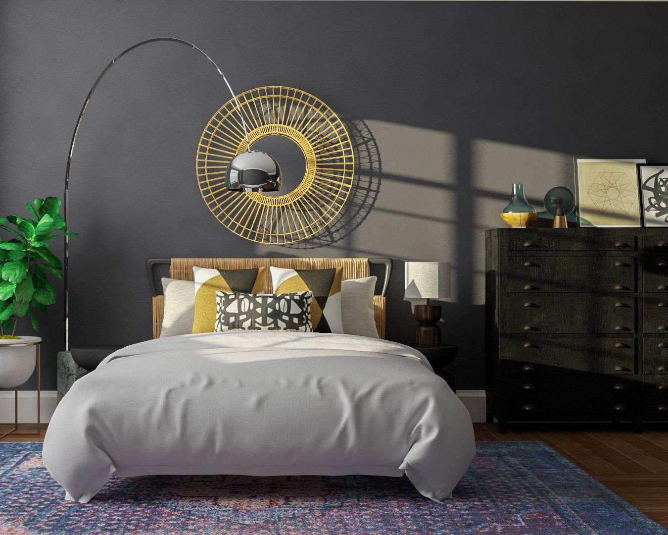 Cheap Bedroom Decor Online Shopping Awesome Moody Boho Bedroom Design Idea