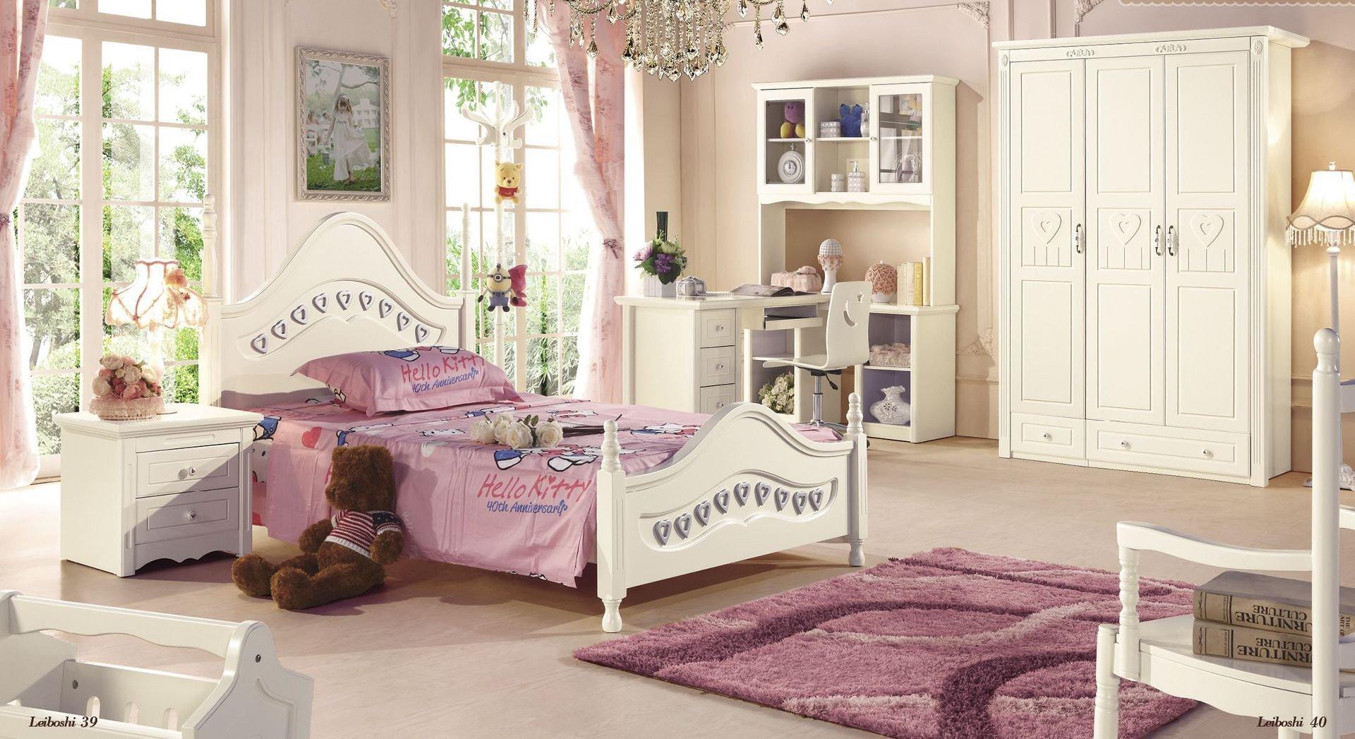 Cheap Childrens Bedroom Set Elegant solid Wood Bedroom Furniture for Kids