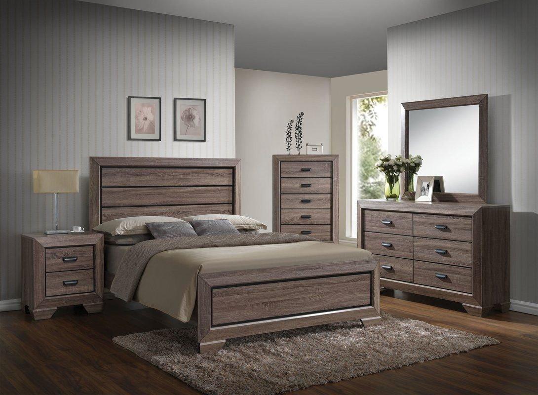 Cheap Modern Bedroom Set Luxury Weldy Standard Configurable Bedroom Set