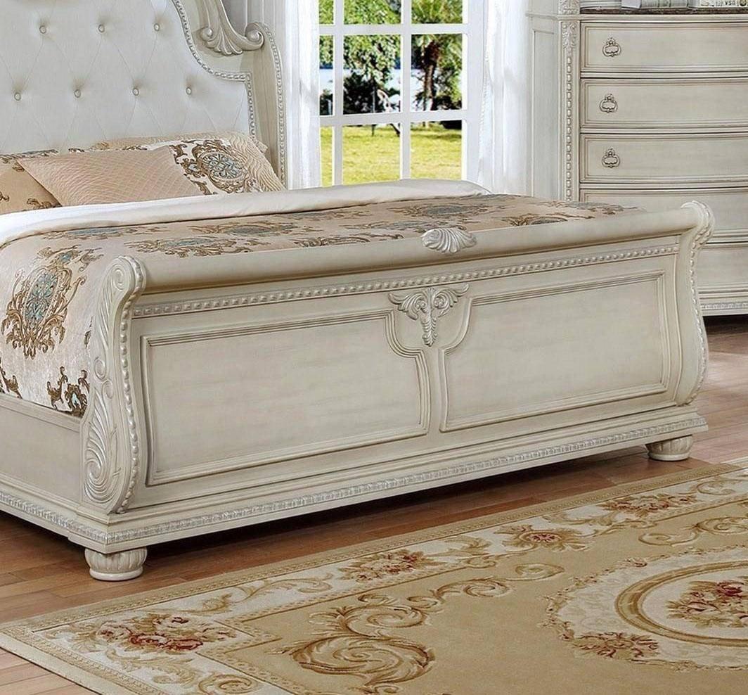 Cheap Queen Bedroom Set Best Of Crown Mark B1630 Stanley Antique White solid Wood Queen
