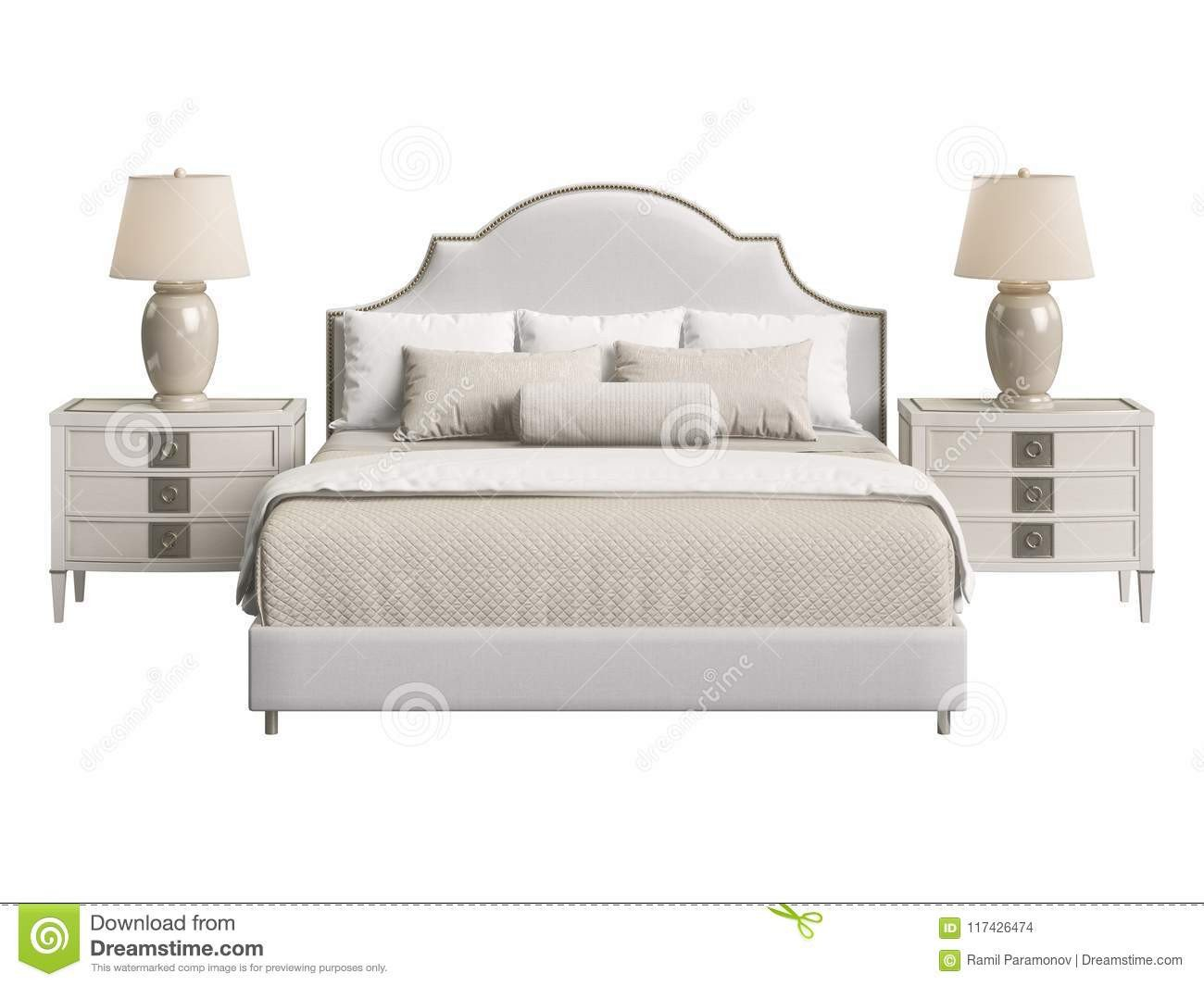Cheap White Bedroom Furniture Set Best Of Classic Bedroom Furniture White Background Stock