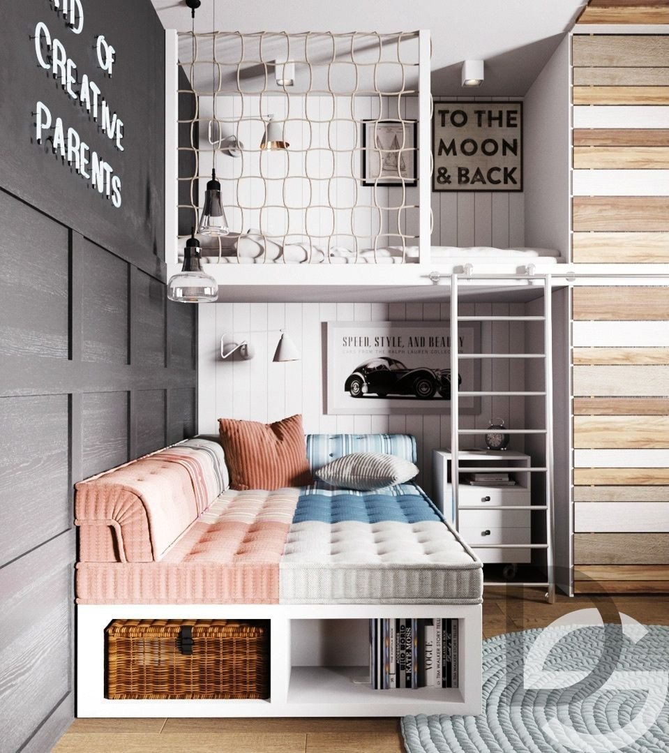 Childrens Bedroom Ideas for Small Bedrooms Beautiful Квартира в Dana towers