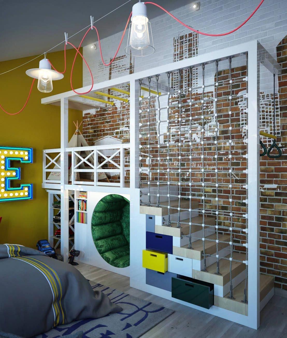 Childrens Bedroom Ideas for Small Bedrooms Fresh Modernistyczny Pok³j Dziecięcy Od Sweet Home Design