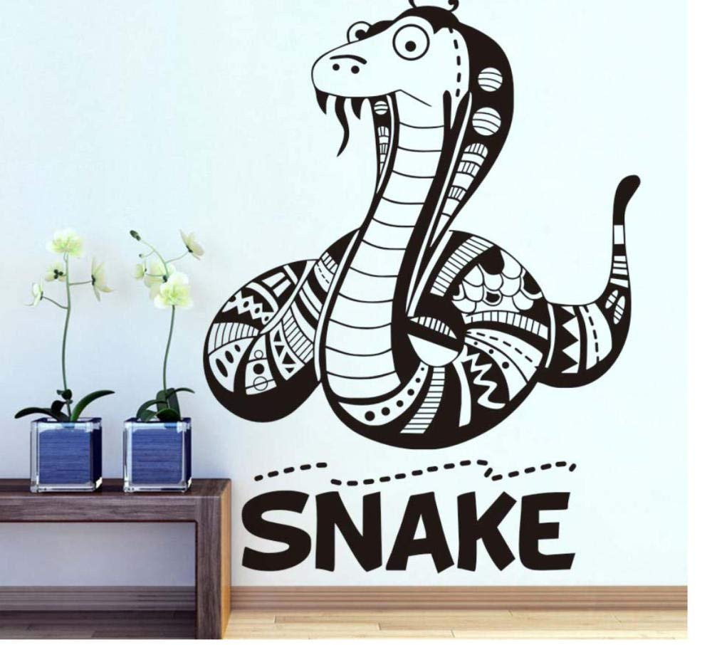 Childrens Bedroom Wall Stickers Removable Best Of Amazon Scmkd Cartoon Flathead Snake Wall Sticker for