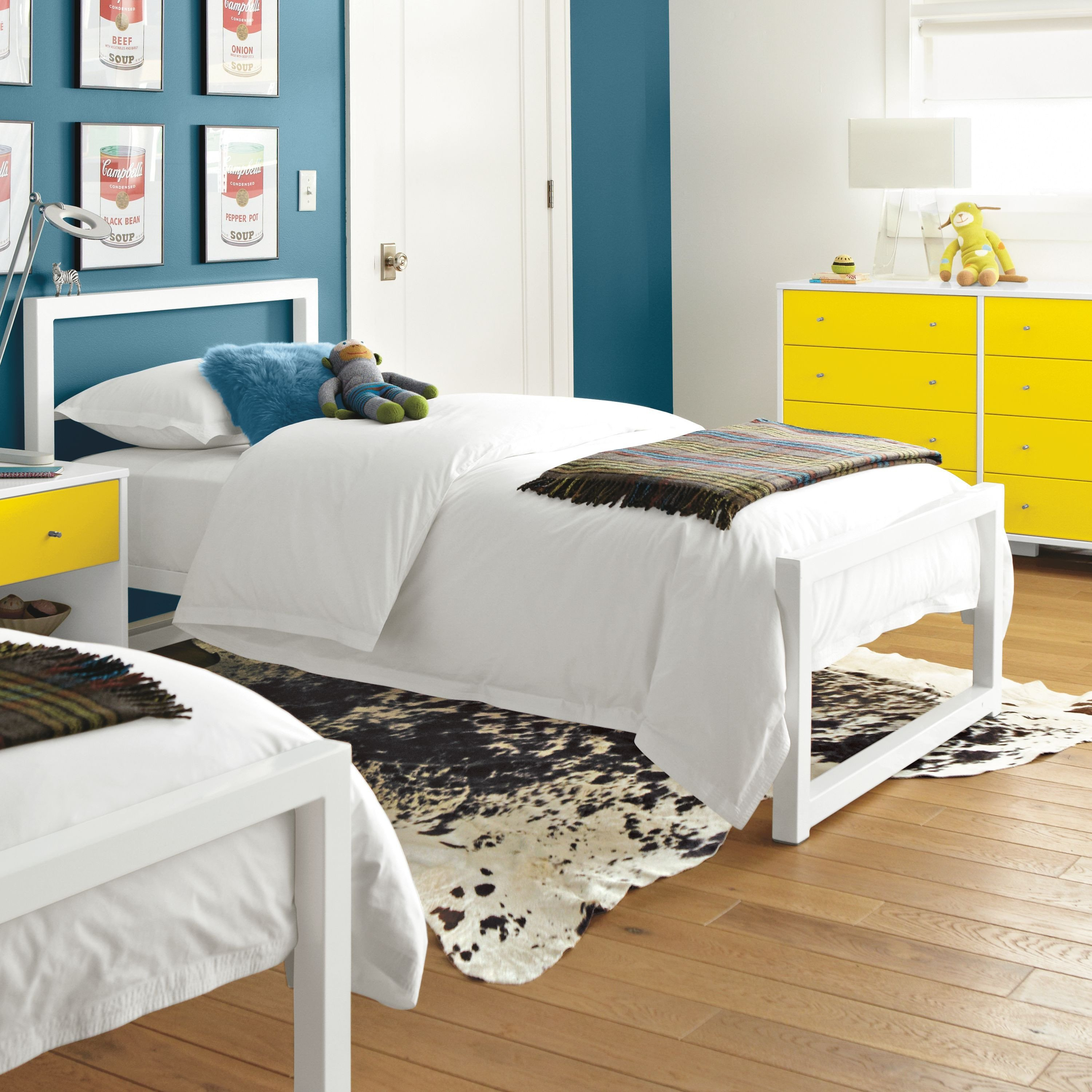 Childrens White Bedroom Furniture Awesome Room & Board Piper Bed In Colors In Kids