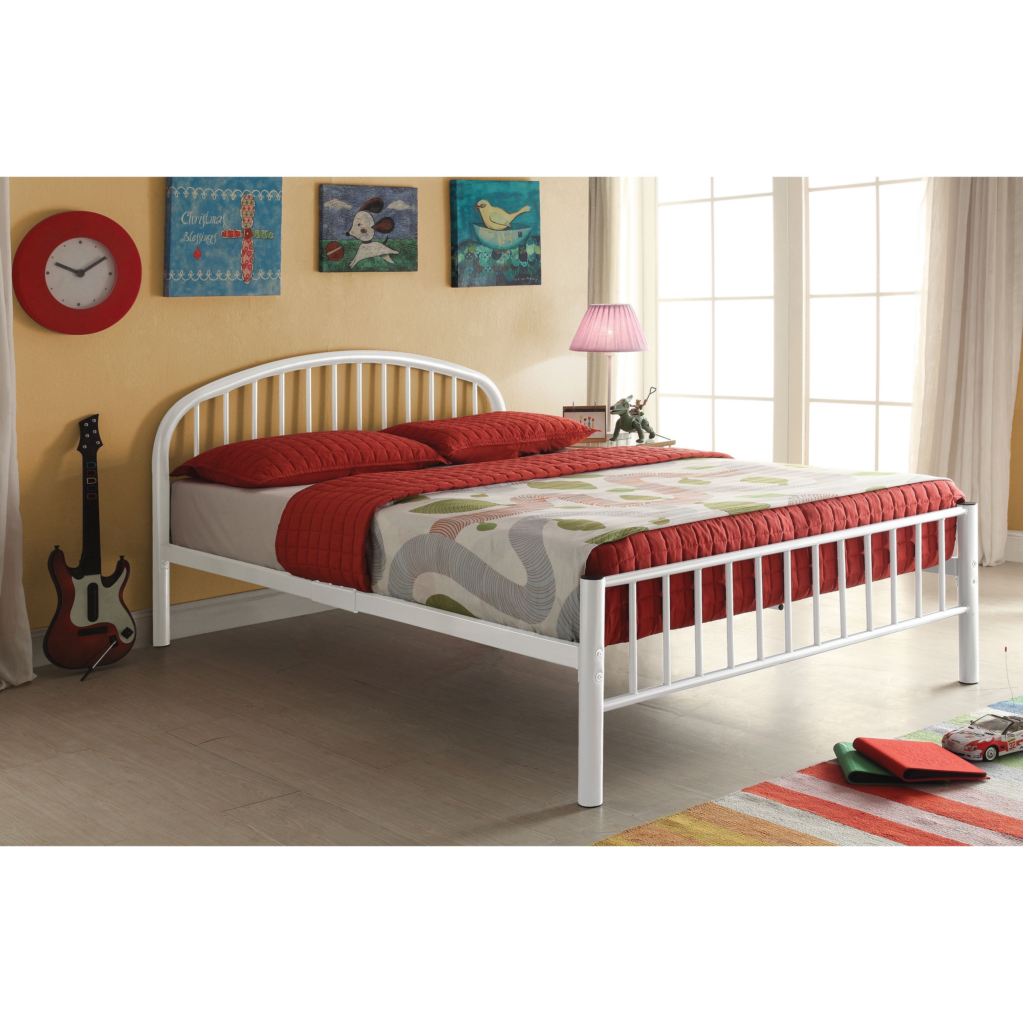 Childrens White Bedroom Furniture New Cailyn White Twin Bed