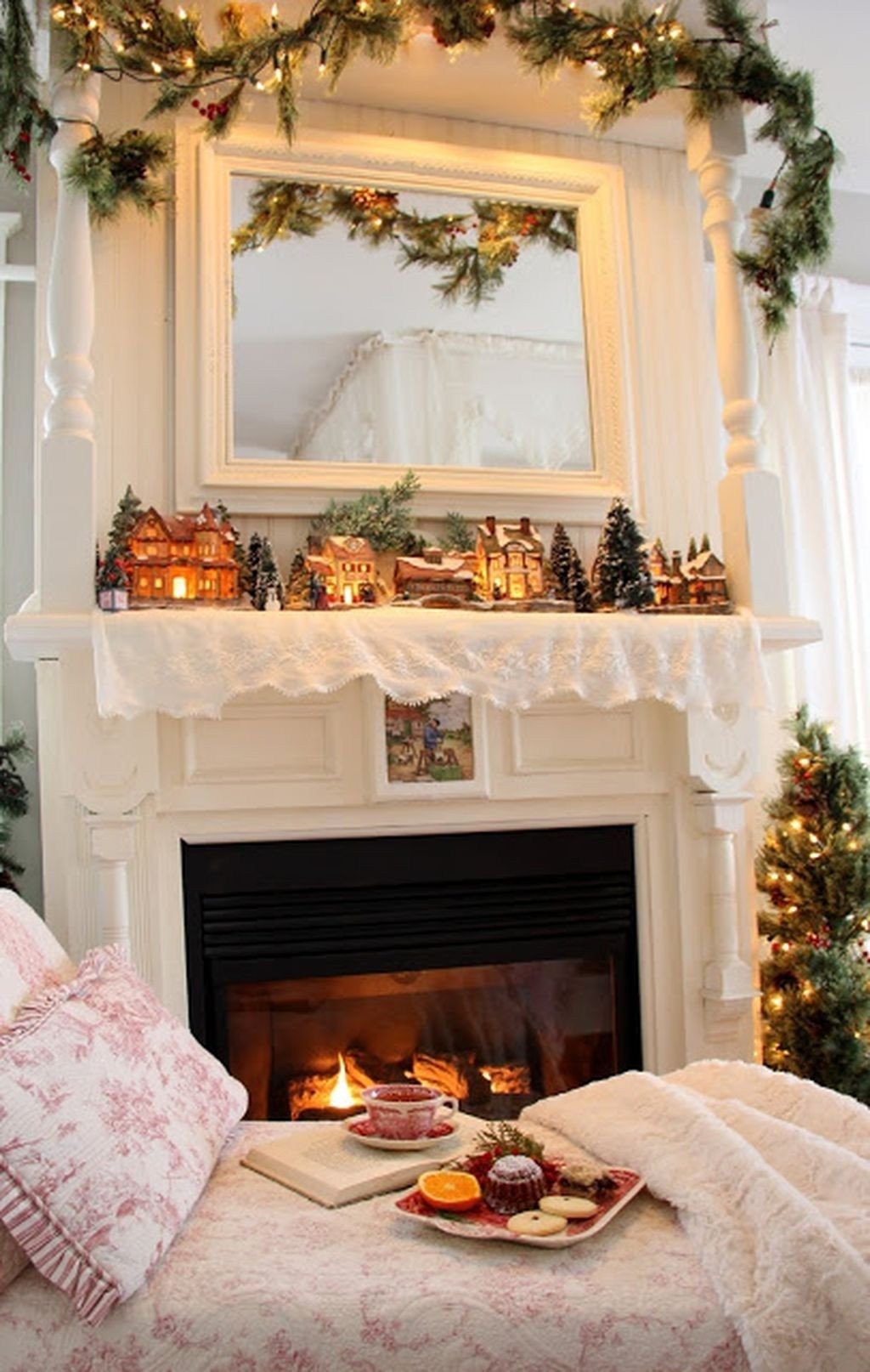 Christmas Bedroom Decorating Ideas Inspirational 40 Cozy Chistmas House Decoration