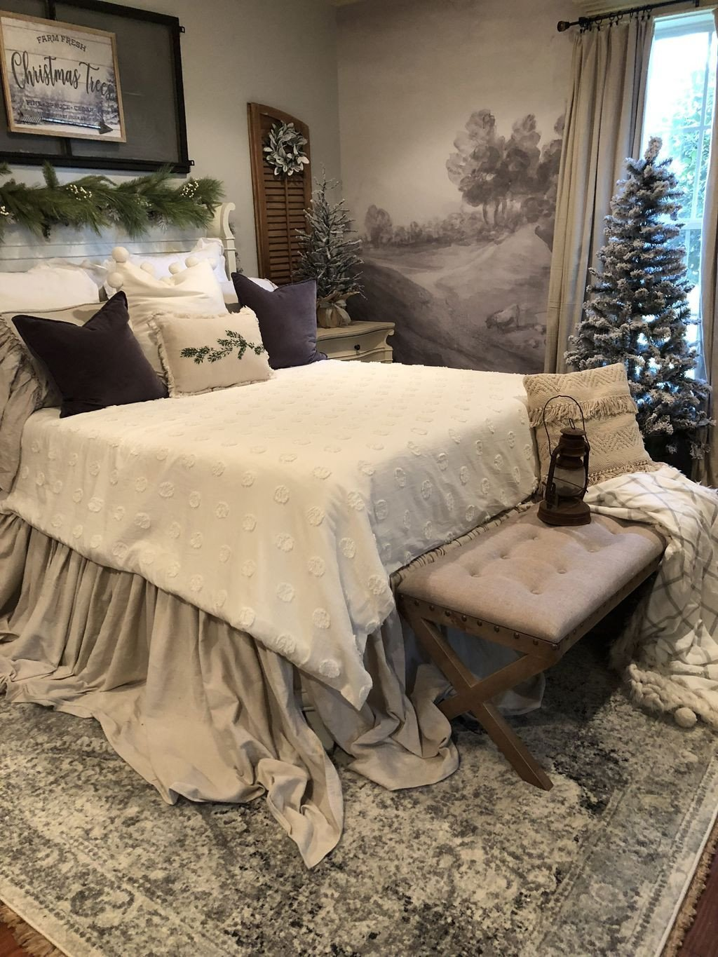 Christmas Bedroom Decorating Ideas Luxury 44 Romantic Christmas Bedroom Decoration Ideas You Will Love