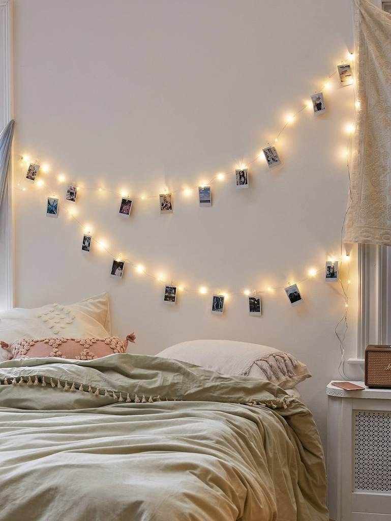 Clip On Bedroom Light New 20pcs Bulb String Light & 20pcs Clip In 2019