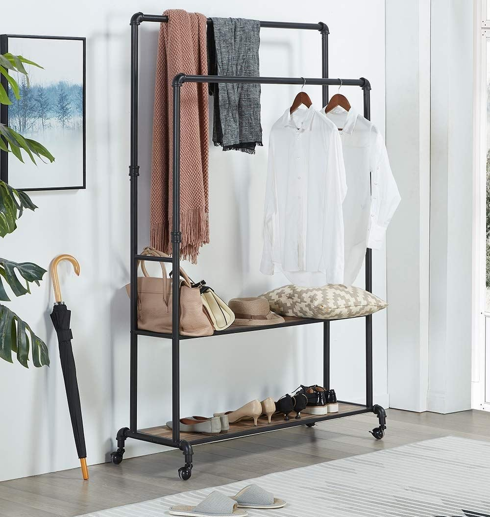 Clothing Rack for Bedroom Beautiful Pin On Small Spaces