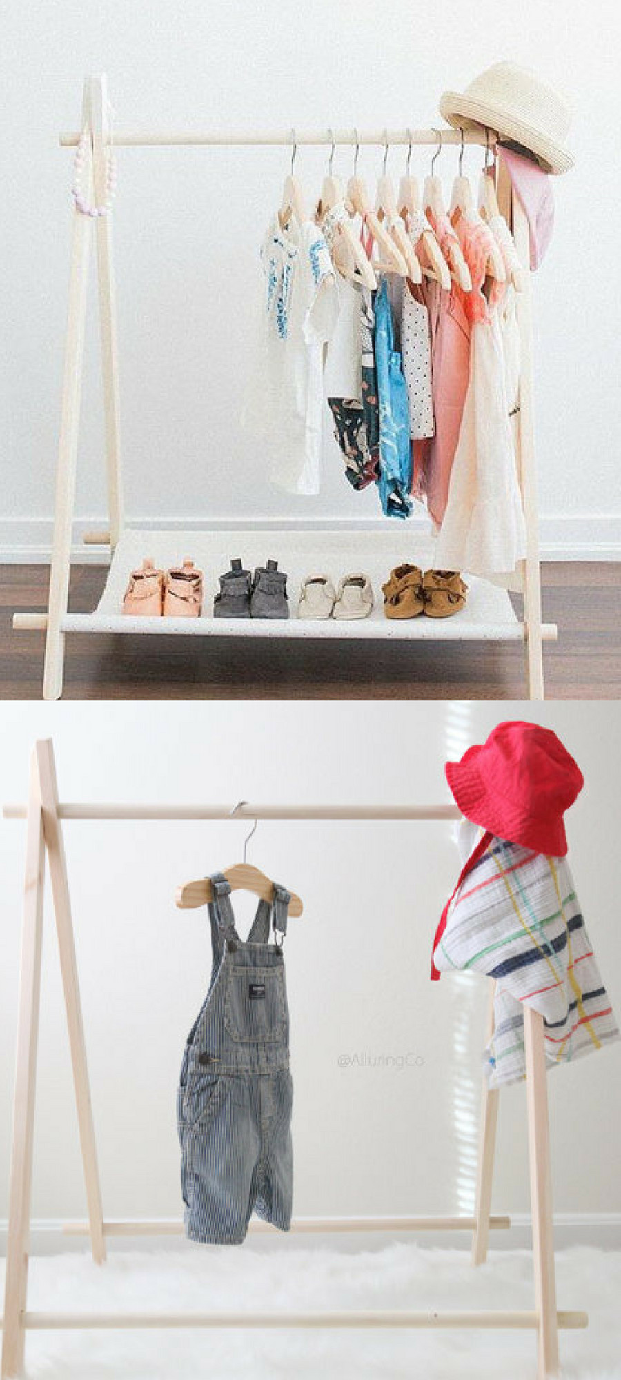 Clothing Rack for Bedroom Luxury Mini Children S Clothing Rack with or without Cotton Canvas