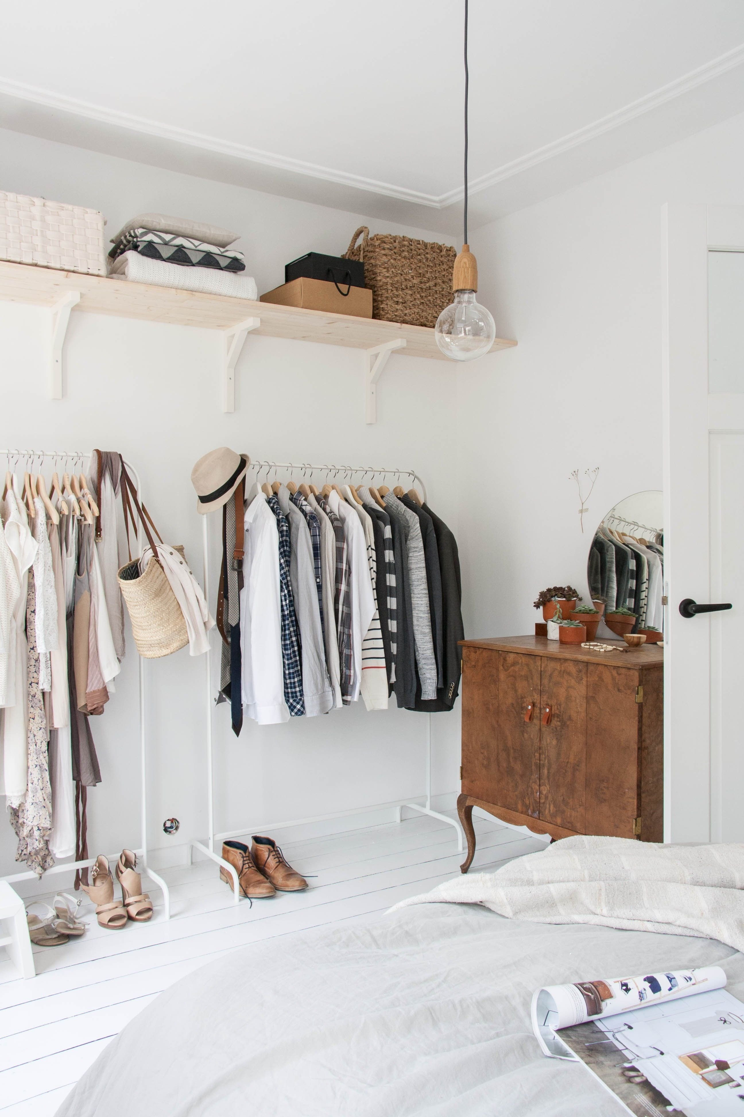 Clothing Rack for Bedroom Unique 5 Real Life Wardrobe Storage solutions From Apartments with