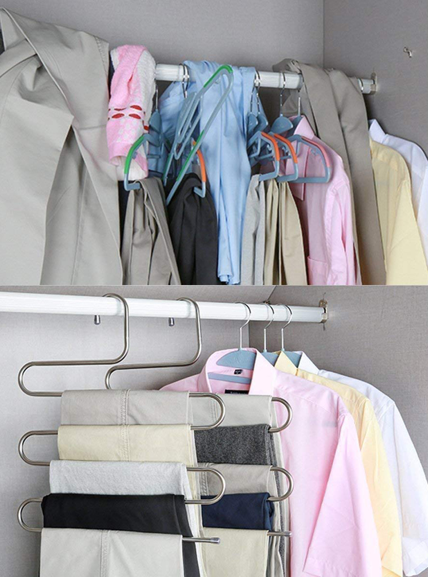 Clothing Rack for Bedroom Unique A Multi Tier Stainless Steel Clothing Rack that Ll Finally