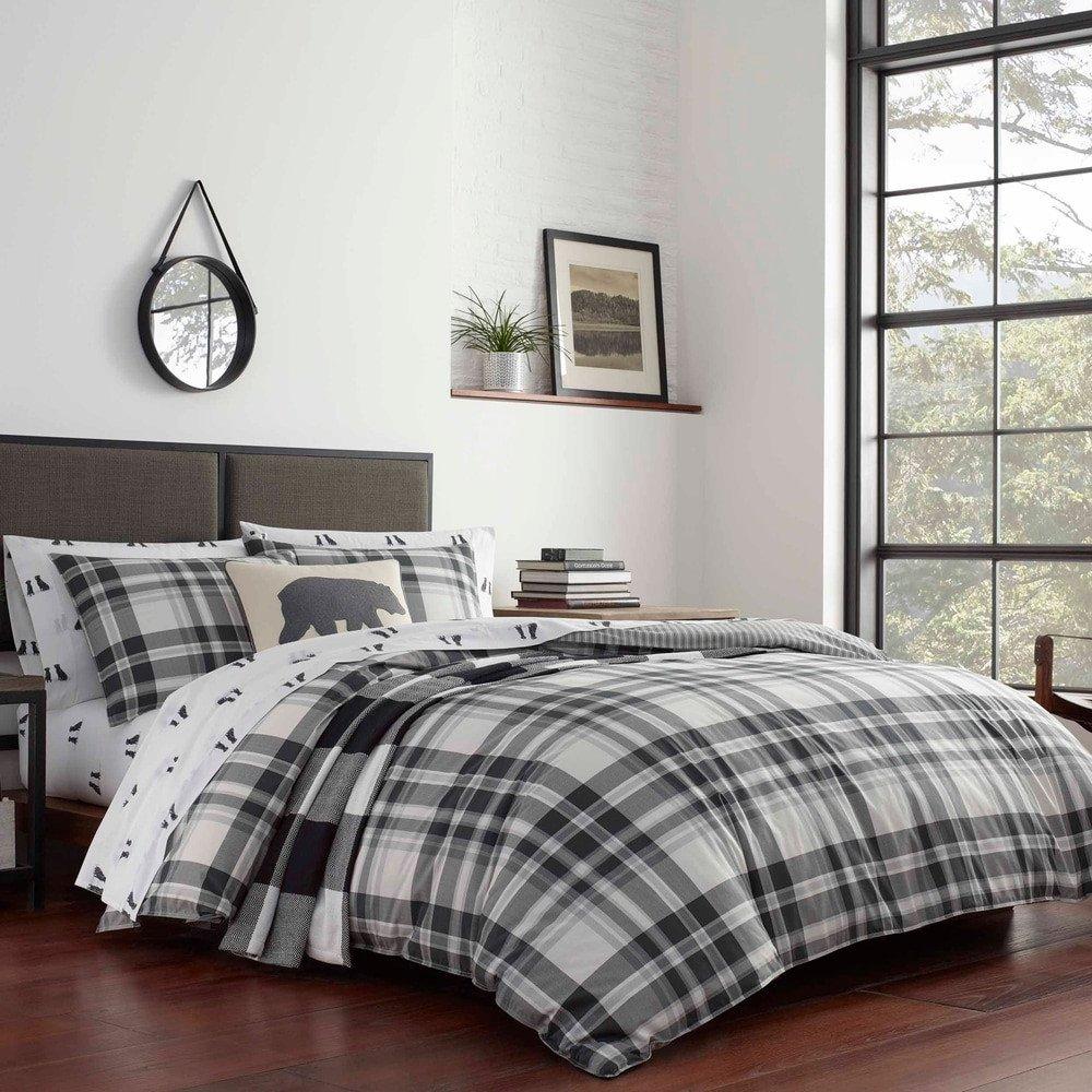 Coal Creek Bedroom Set Elegant Black Cotton forter Sets