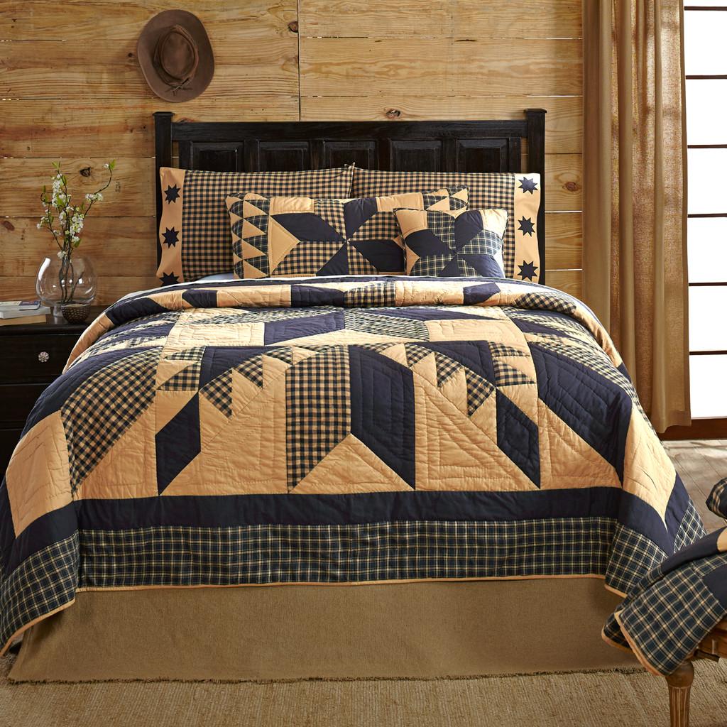 Coal Creek Bedroom Set Elegant Dakota Star King Luxury Quilt