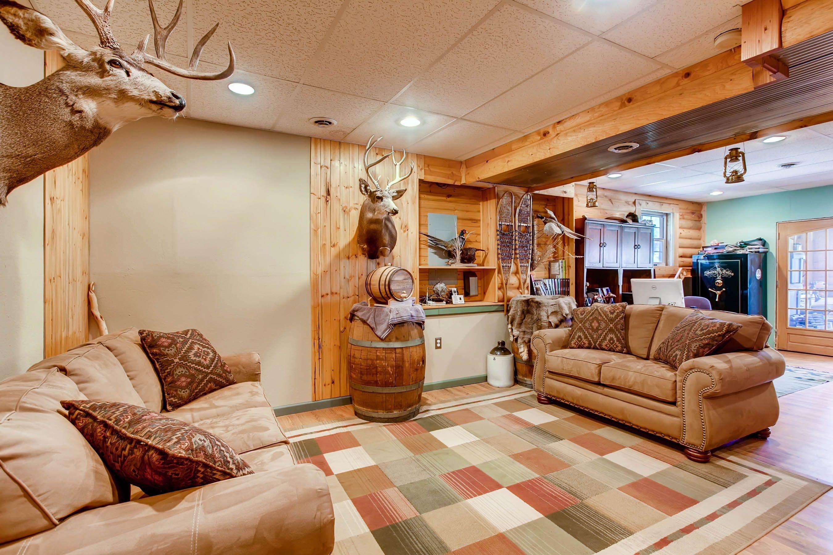 Coal Creek Bedroom Set Unique Basement Recreation Room Man Cave