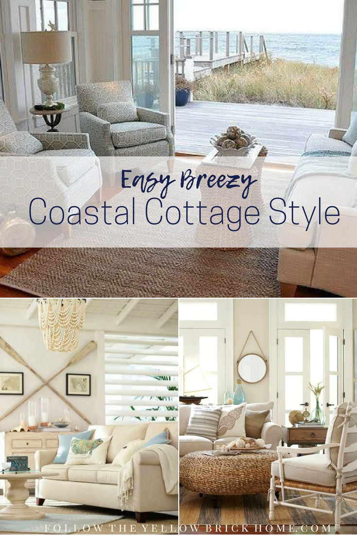 Coastal Style Bedroom Furniture Elegant Follow the Yellow Brick Home Easy Breezy Coastal Cottage