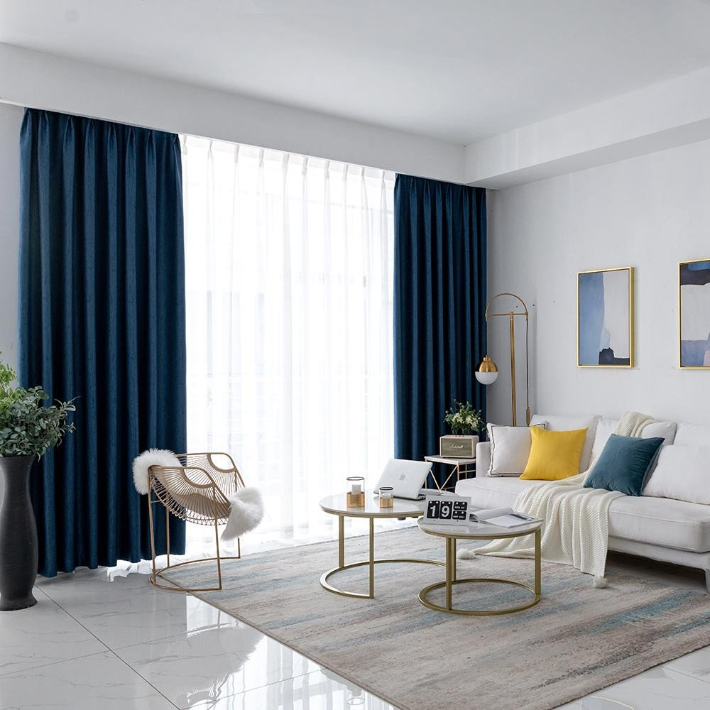 Colorful Curtains for Bedroom Inspirational 2019 Dsinterior Shading Modern solid Plain Color Blackout Curtain for Living Room Bedroom Window Custom From Qygw Home $35 28