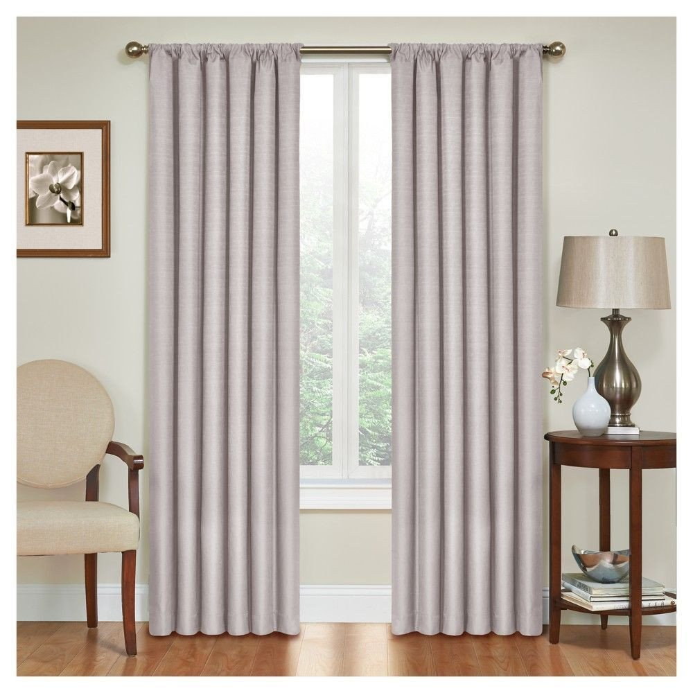 "Colorful Curtains for Bedroom Inspirational Kendall thermaback Blackout Curtain Panel Grey 42""x95"
