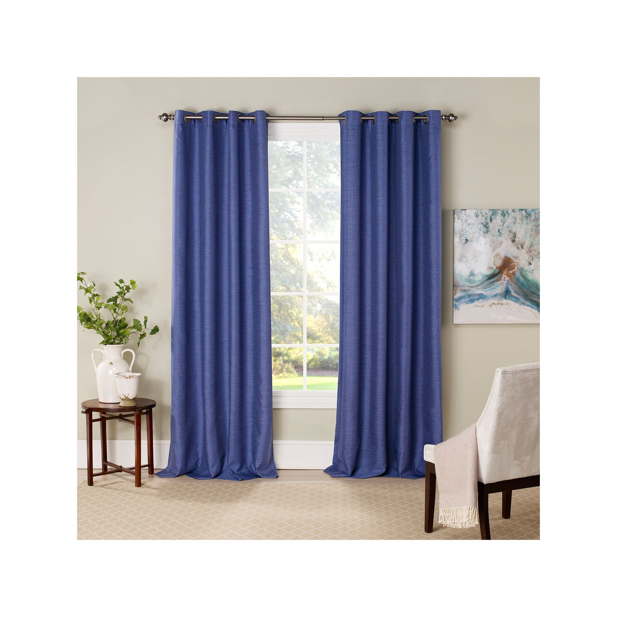 Colorful Curtains for Bedroom Luxury Eclipse Newport Blackout Window Curtain