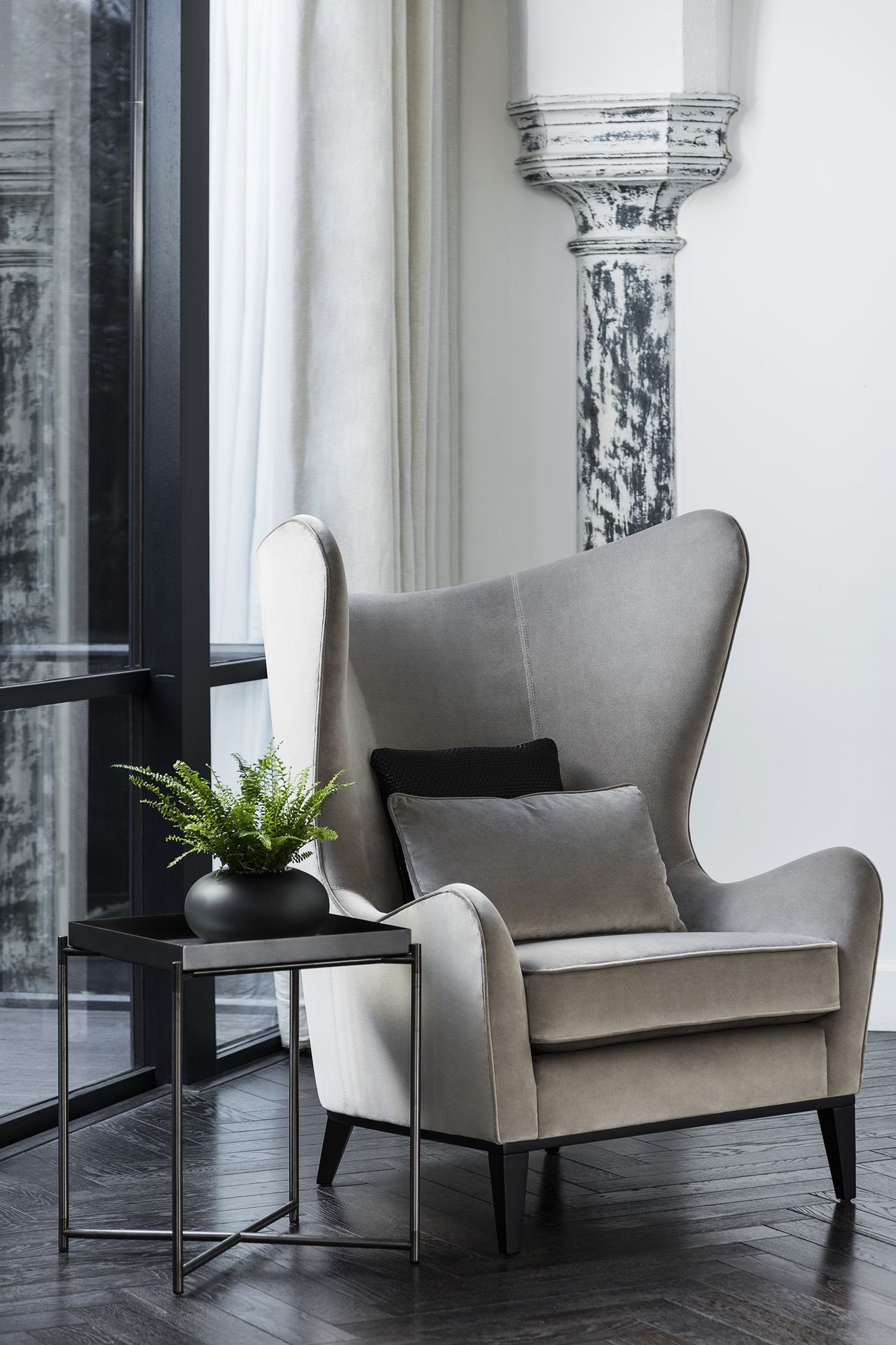 Comfy Chair for Bedroom New Our Monroe Wingback Armchair is A Statement Piece for Your