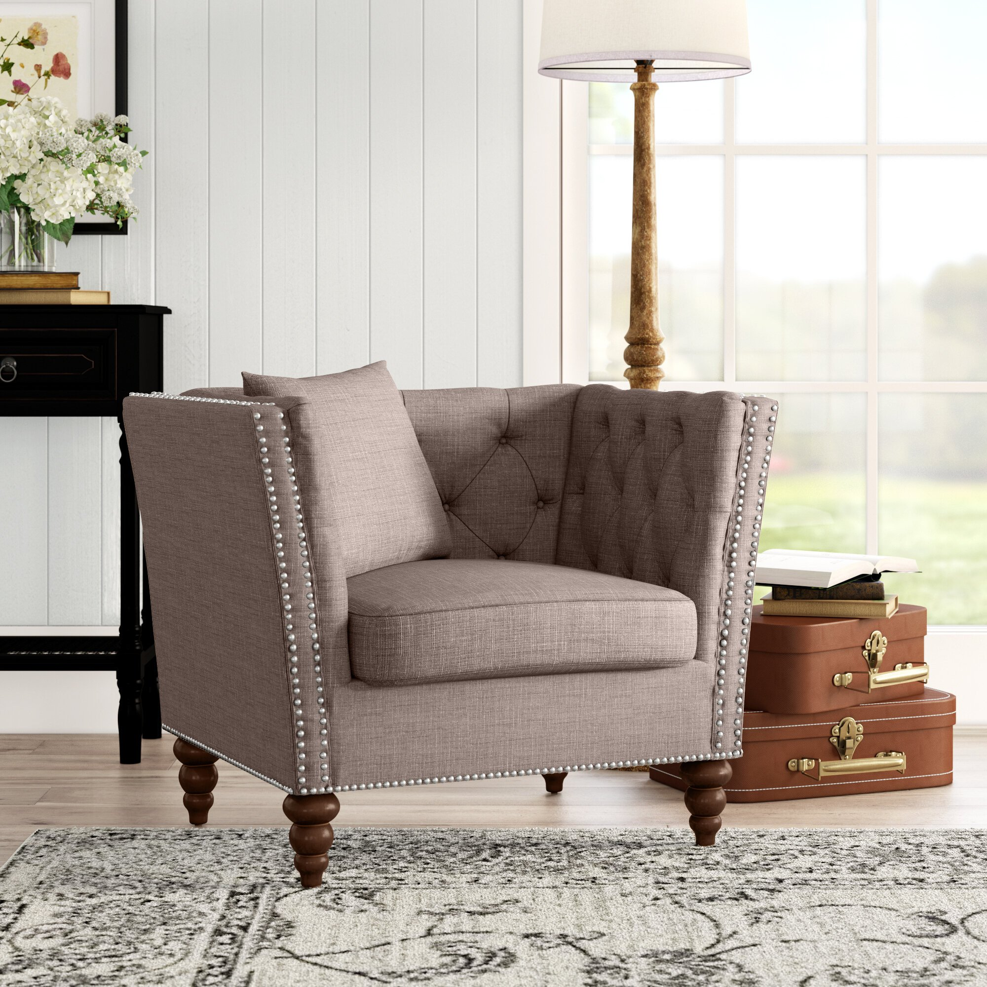 Comfy Reading Chair for Bedroom Awesome Gudruna Armchair