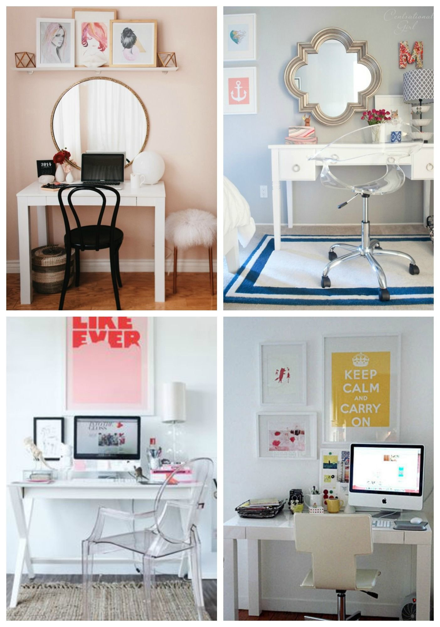 Computer Desk for Small Bedroom Awesome Desk Vanity Bos Put It Next to the Bed and You Have A