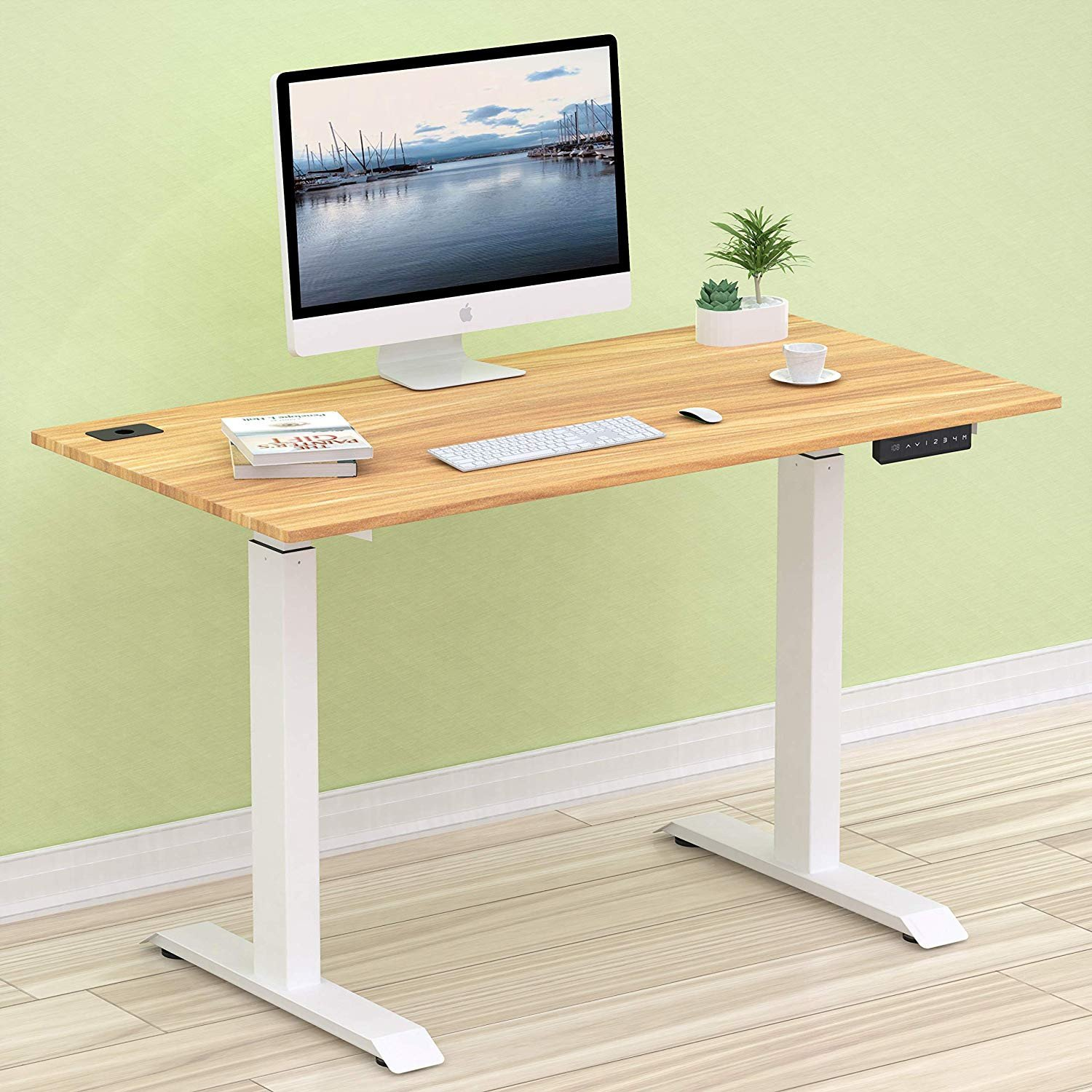 Computer Desk for Small Bedroom Elegant Shw Electric Height Adjustable Puter Desk 48 X 24 Inches Maple