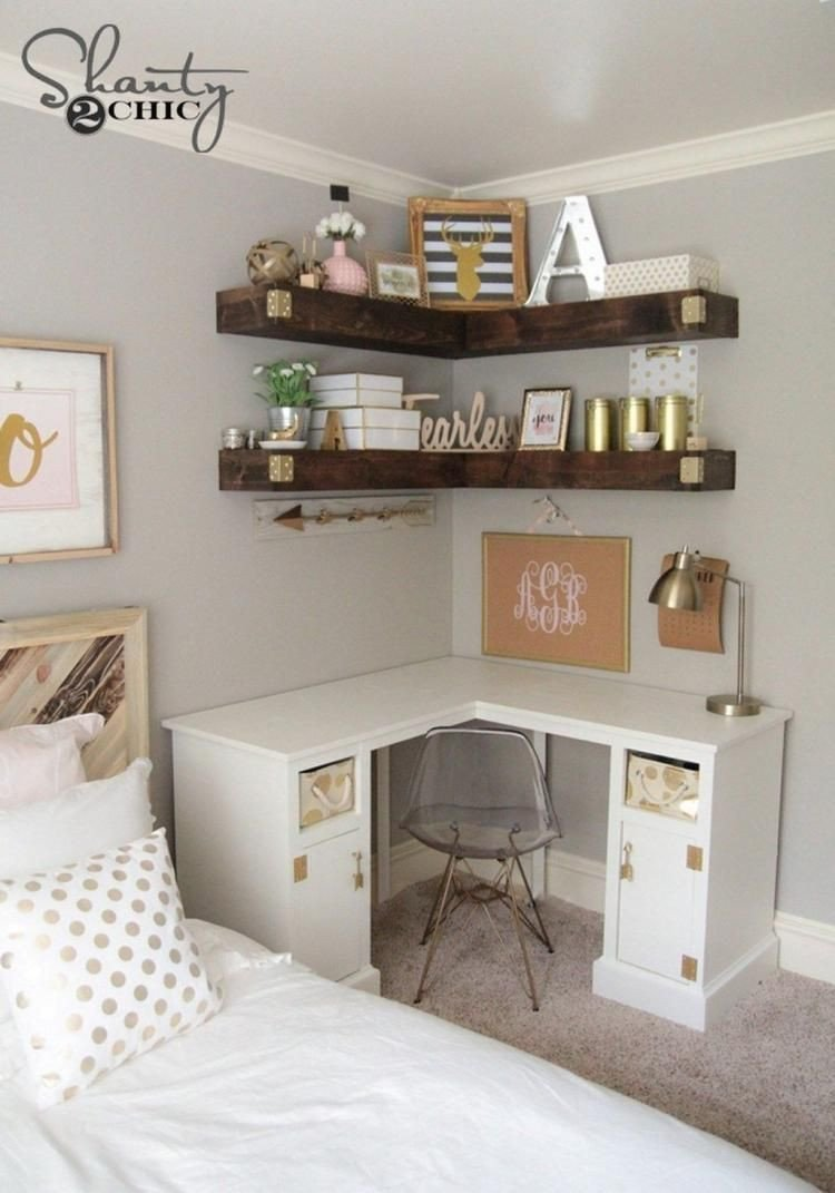 Computer Desk for Small Bedroom Lovely 27 Diy Puter Desk Ideas You Can Build now In 2019