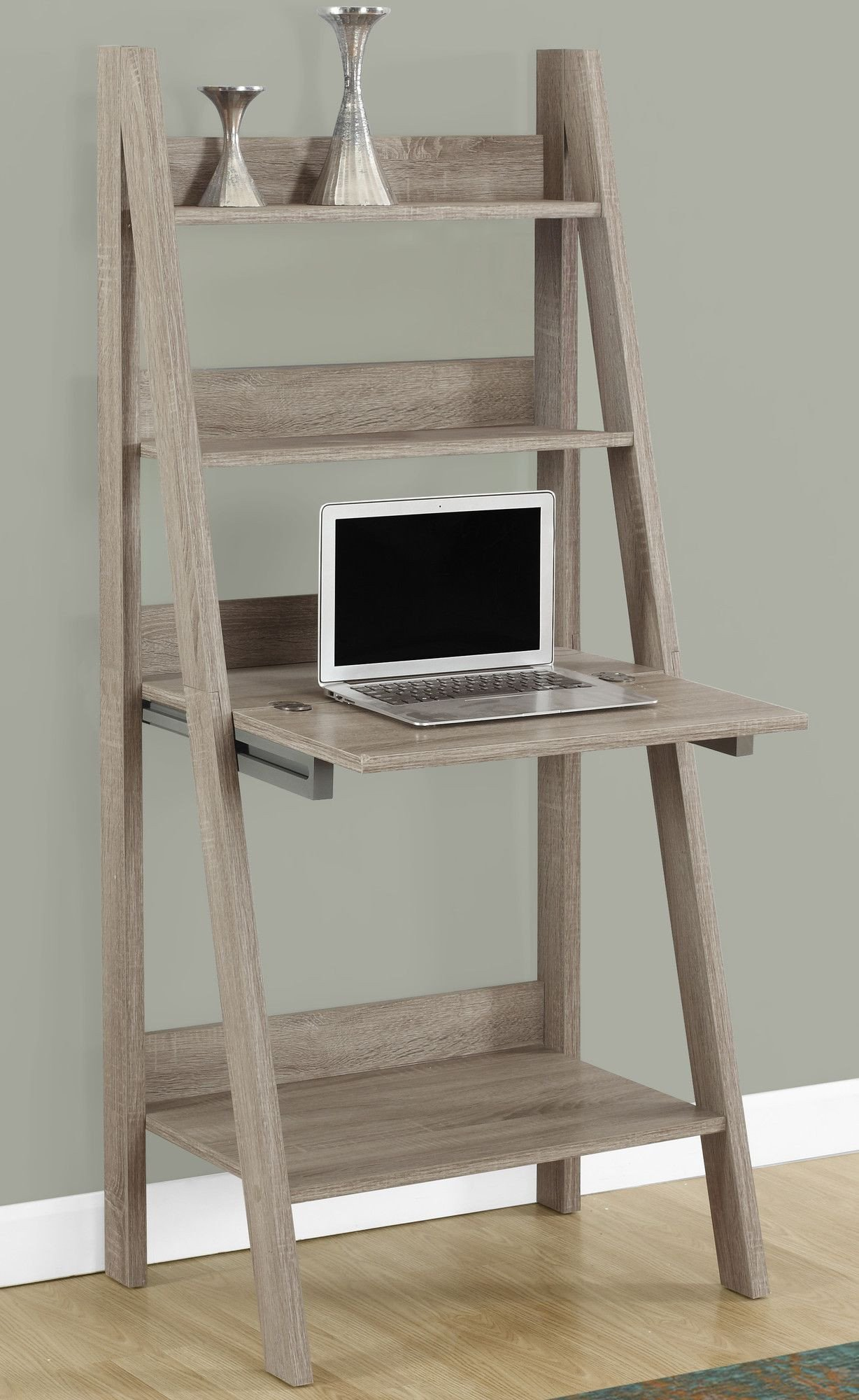 Computer Desk for Small Bedroom Luxury Shelby Leaning Ladder Desk