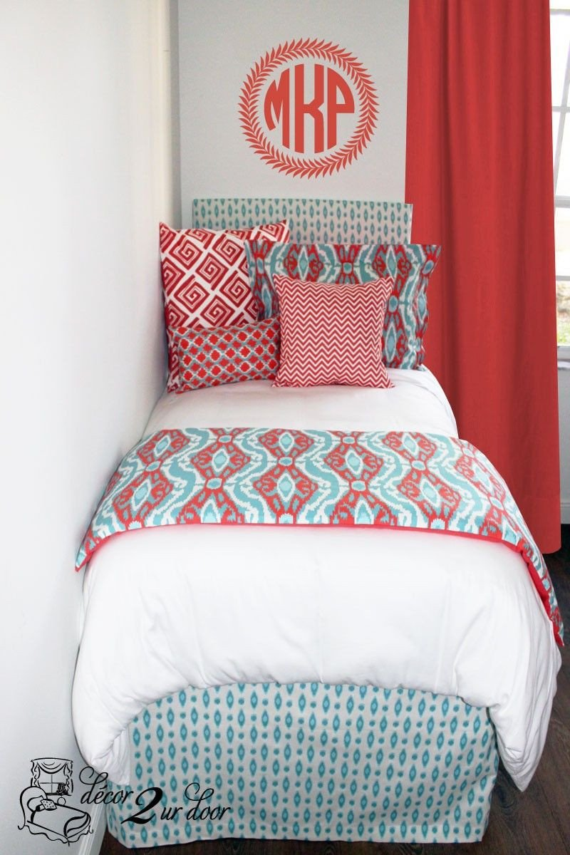 Coral and Teal Bedroom Lovely 60 Best Coral and Teal Bedding Images
