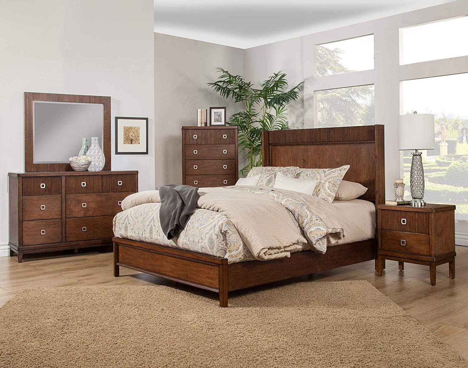 Cortina Sleigh Bedroom Set Lovely Amazon Alpine Furniture 3900 01q Panel Bed Queen