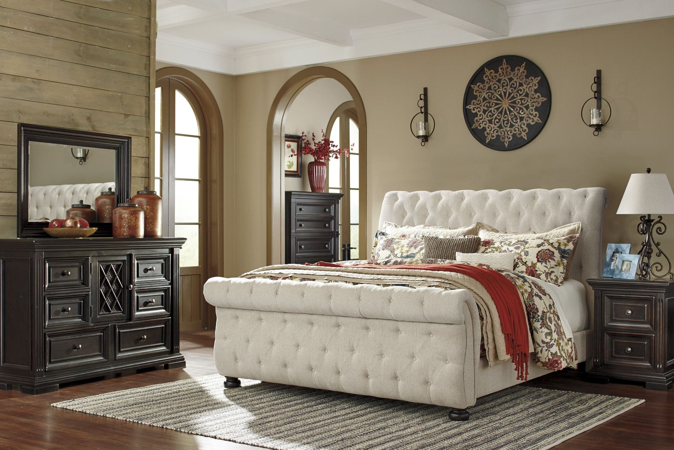 Cortina Sleigh Bedroom Set New Bedroom Royal Queen Sleigh Bed Frame with Elegant Creative