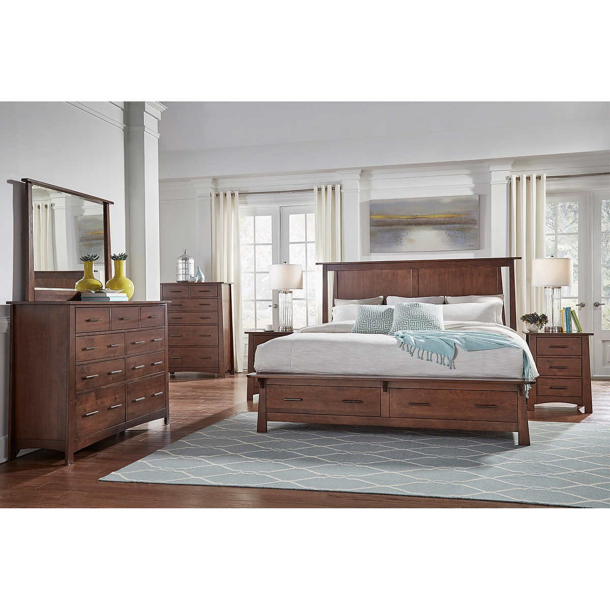 Costco Bedroom Furniture Reviews Inspirational Callie 6 Piece King Storage Bedroom Set