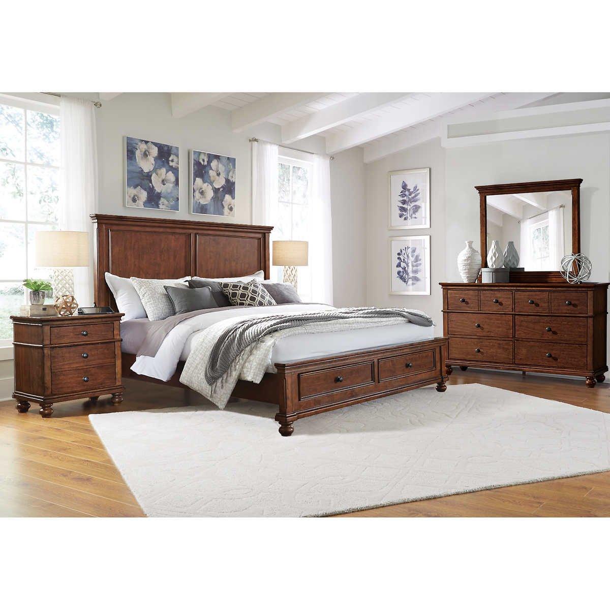 Costco Bedroom Furniture Reviews New Briar Creek 5 Piece Queen Bedroom Set