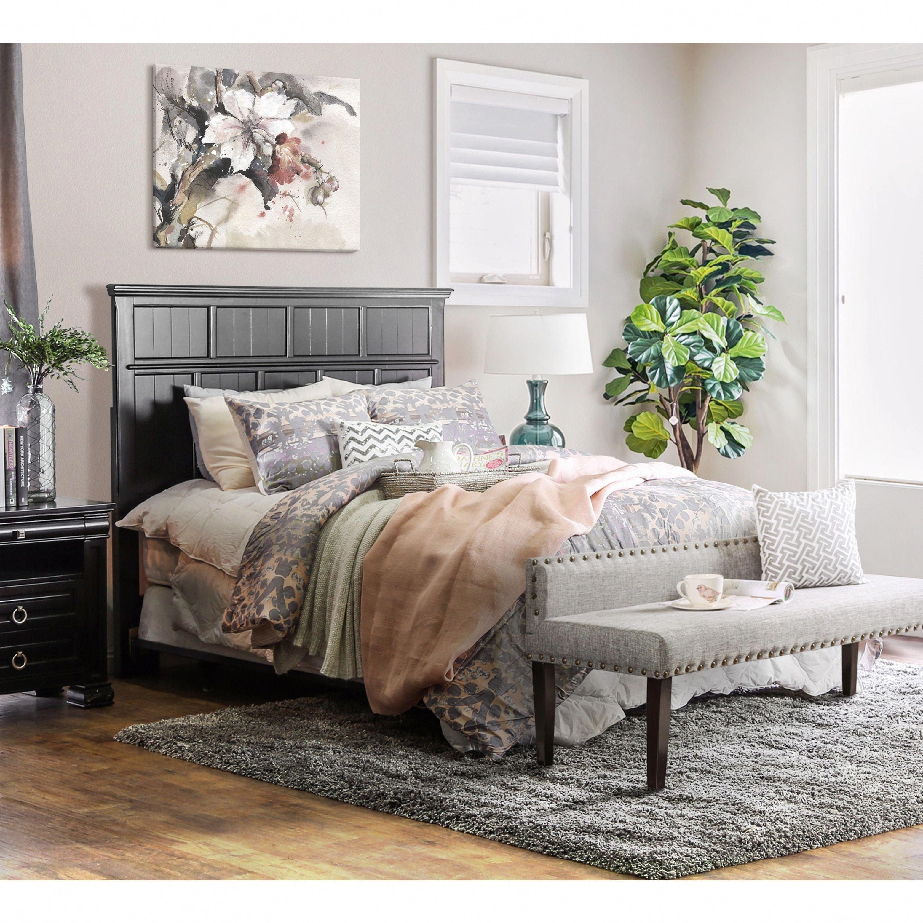 Cottage Style Bedroom Set Elegant Oliver & James Maruja Cottage Style Full Queen Headboard
