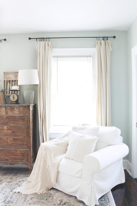 Curtain Styles for Bedroom Best Of Diy Farmhouse Style Drop Cloth Curtains 2 Ways