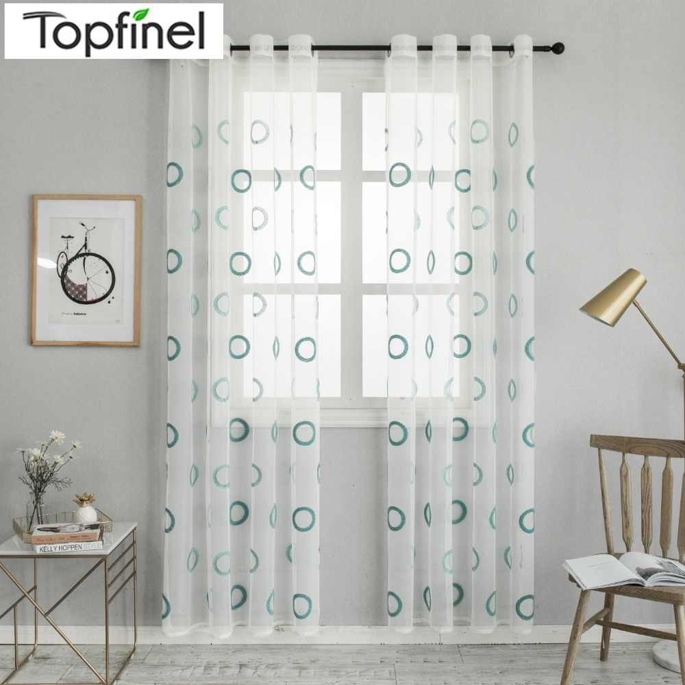 Curtains for Bedroom Windows with Designs New topfinel Blue Endless Embroidered Branches Window Sheer
