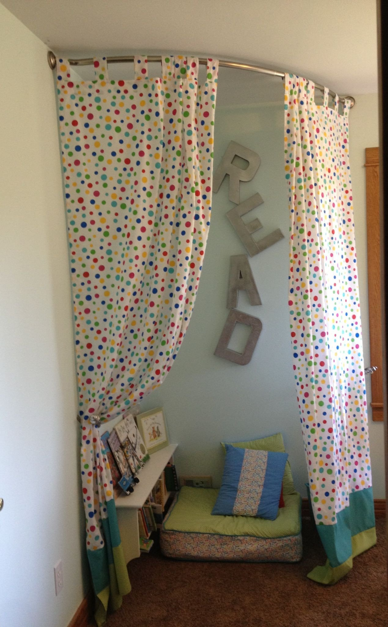 Curtains for Boy Bedroom Elegant I Finally Finished the Kids Reading Nook area In Our